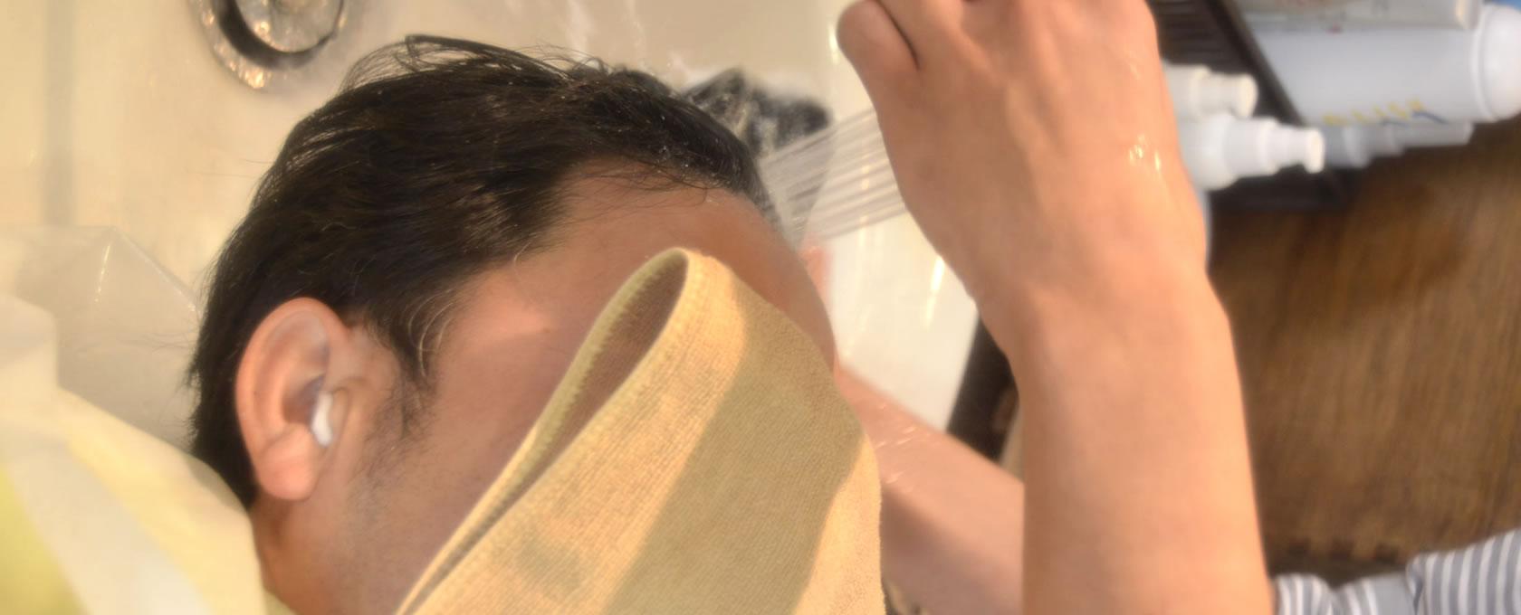 炭酸泉で髪と頭皮を清潔に